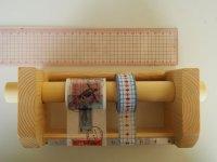 346木製マスキングテープカッター&スタンド ナチュラル