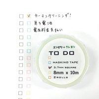 TODOマステ3.7mmエンピツクレヨン 2本組