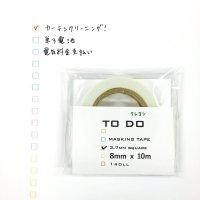 クレヨンTODOマステ3.7mm 1個パック
