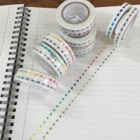 手帳矢印マステ グラデーション グレー+カラー2個組