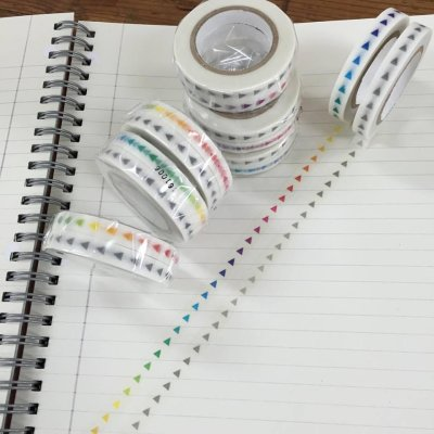 画像4: 手帳矢印マステ カラーグラデーション 1個パック
