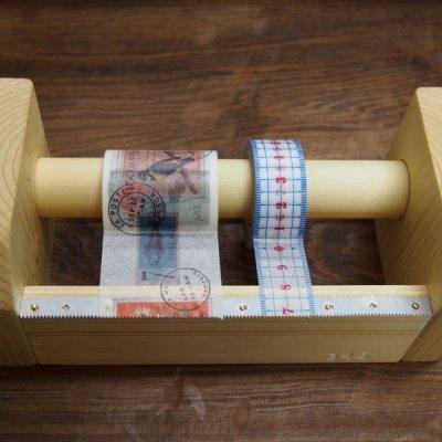 画像3: 346木製マスキングテープカッター&スタンド ナチュラル