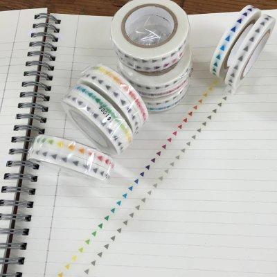 画像1: 手帳矢印 グラデーション グレー+カラー2個組