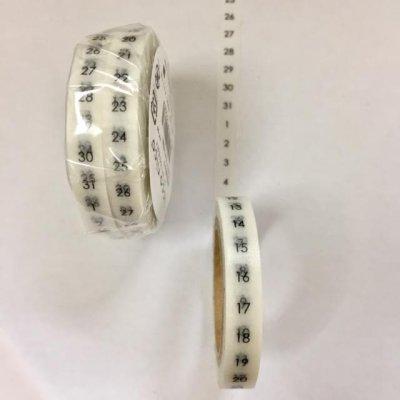 画像2: 貼暦オリジナルサイズ同じ数字2個パック(タテとヨコの2種あります)