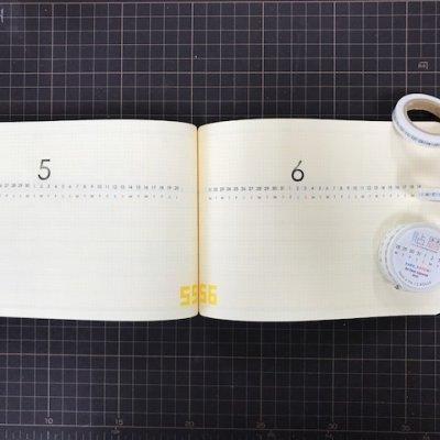 画像2: 貼暦ヨコ組5mm方眼対応mini(詰め詰め)/日本語版or英語版